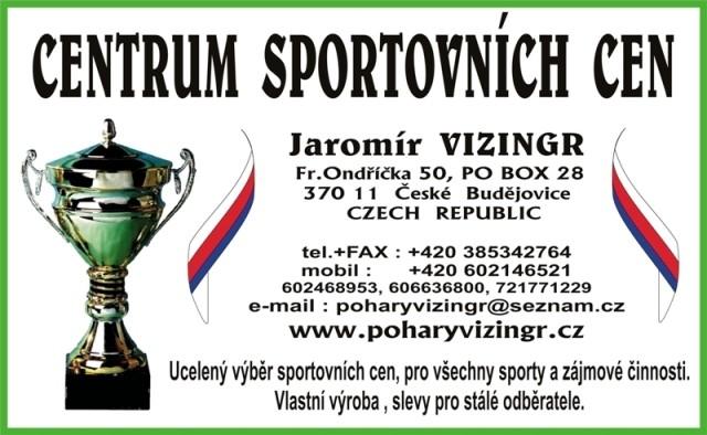 vizitka Poháry Vizingr